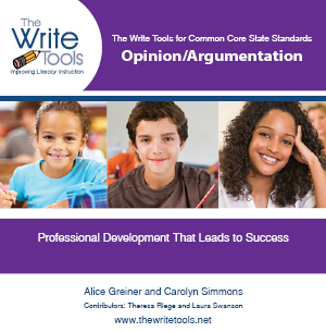 Training in CCSS Opinion/Argumentation