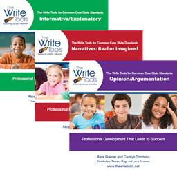 The Write Tools CCSS Training Materials